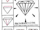 Easy Drawings Diamond 128 Best Kawaii and Doodles Drawings Step by Step Images Doodle