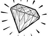 Easy Drawings Diamond Gem Steps Diamonds Gems Pinterest Drawings Tumblr Drawings