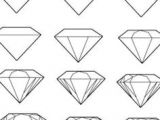 Easy Drawings Diamond How to Draw A Diamond Printable Step by Step Drawing Sheet