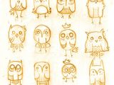 Easy Drawings for 1st Standard First Tumblr Dump Draw Animals Drawings Owl Art Art