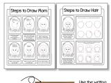 Easy Drawings for Your Mom Mother S Day Card Drawing Mom Directed Drawing with Choices Art