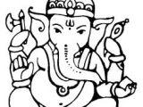 Easy Drawings Ganesh 28 Best Ganesh Colourings Images Ganesha Painting Mandalas Draw
