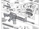 Easy Drawings Gun Ar Schematic Technical Drawings Cutaways Guns Firearms Weapons