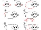 Easy Drawings Lamb Pin by Nafas On Drawings Drawings Cartoon Drawings Easy Drawings