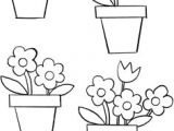 Easy Drawings Of Flower Pot Insured by Laura How to Draw Flowers Step by Step with Pictures