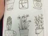 Easy Drawings Of Flower Pot Pin by Julie Cessna On Doodle Flowers Doodles Drawings Flower