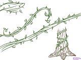 Easy Drawings Of Flowers and Vines Drawings Of Flowers Leaves and Vines to Draw Vines Step by Step