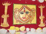 Easy Drawings Of Navratri Durga Navratri Decoration Preschool Decoration School