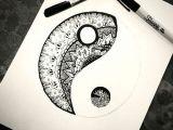 Easy Drawings Of Yin Yangs Tattoo Ideas Geometric Yin Yang Best Tattoos Sketch References