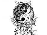 Easy Drawings Of Yin Yangs Ying Yang Dream Catcher Par Simplement sofie Tattoo Ideas