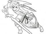 Easy Drawings Of Zelda Legend Of Zelda Link Drawing Easy