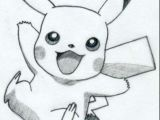 Easy Drawings Pikachu Easy Pikachu Drawing if This Was Colored It Would Be even Better