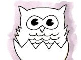 Easy Drawings Pizza Learn to Draw A Baby Owl In 6 Steps Doodles Drawings and More 7