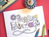 Easy Drawings Related to Diwali 160 Best Drawing Images In 2019 Diwali Greeting Cards Diwali