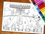 Easy Drawings Related to Diwali Dussehra Colouring Page Diwali Colouring Page by Yellowdoodleshop