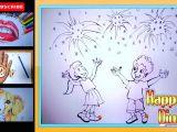 Easy Drawings Related to Diwali Pin by Sanchari Karar On News to Go Drawings Diwali Festival