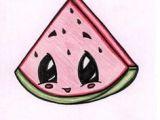 Easy Drawings Watermelon 26 Best Watermelon Images Watermelon Cute Drawings Watermelon
