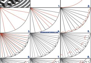 Easy Drawings with Lines How to Draw Cool Optical Illusion Drawing Trick with Easy Step by