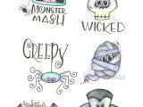 Easy Halloween Drawings Step by Step More Halloween Doodles Mariebrowning Halloween Drawing