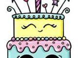 Easy Happy Birthday Drawings Happy Birthday Cute Kawaii Drawings Cute Food Drawings