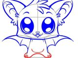 Easy How to Draw A Bat How to Draw A Cute Bat Step by Step forest Animals