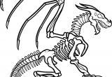 Easy How to Draw A Skeleton Dragon Skeleton How to Draw Manga Anime Cartoon Dragon