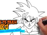 Easy How to Draw Goku How to Draw Goku 14 Steps with Pictures Wikihow