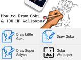 Easy How to Draw Goku How to Draw Goku Bonus Db Goku Fan Art Wallpaper for