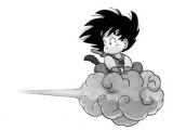 Easy How to Draw Goku Youbiwara Goku Drawing Kid Goku Dragon Ball