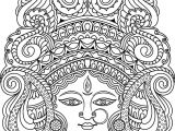 Easy Kalamkari Drawing Adult Coloring Pages Doodle Art Drawing Kalamkari