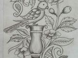 Easy Kalamkari Drawing Pin by Yogeshraj Artist On Embroidery Design S Embroidery