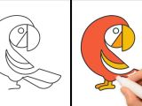 Easy Logo Drawings How to Draw A Bird Step by Step Very Easy Bird