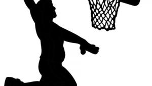 Easy Nba Drawings Basketball Slam Dunk Basketball Slamdunk Drawing Baskets