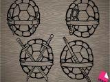 Easy Ninja Turtle Drawing Pick Your Favorite Ninja Turtle Shell Vinyl Decal Sticker
