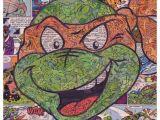 Easy Ninja Turtle Drawing Teenage Mutant Ninja Turtles Michaelangelo Comic Collage