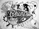 Easy Pictures to Draw with Sharpies Cool Things to Draw with Sharpie Easy Craft Ideas