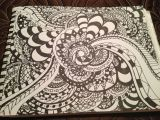 Easy Pictures to Draw with Sharpies Marker Drawing Drawings Art Zentangle Patterns