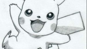 Easy Pikachu to Draw Pin On Drawings