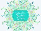 Easy Procreate Drawings Easy Perfect Mandala In Procreate Watercolor Mandala