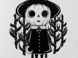 Easy Scary Halloween Drawings Behemot Crta Stvari Doodles Procrastinator Exorcist
