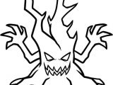 Easy Scary Halloween Drawings Scary Tree Easy Halloween Drawings Halloween Coloring