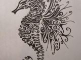 Easy Seahorse Drawing My Future Tattoo Im Thinking About Getting It On My Inner