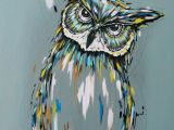 Easy Simple Owl Drawing Owl Painting Acrylic Painting On Canvas Owl Spirit Guide