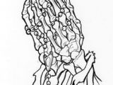Easy Skeleton Hand Drawing Pin by Barbara Marie On This is It Praying Hands