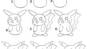 Easy Things to Draw Pikachu How to Draw Pikachu Step by Step Pikachu Drawing Drawings