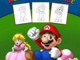 Easy to Draw Nintendo Characters Pdf Download Super Mario How to Draw Guide Step by Step