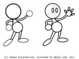 Easy to Draw Nintendo Characters Simple Cartoon Shapes Allow You Draw Any Cute Character