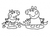 Easy to Draw Peppa Pig Image Result for Peppa Pig Muddy Puddles Coloring Pages