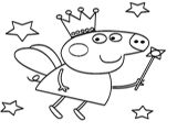 Easy to Draw Peppa Pig Peppa Pig Fairy How to Draw Peppa Pig Fairy