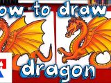 Easy Way to Draw A Dragon How to Draw A Dragon